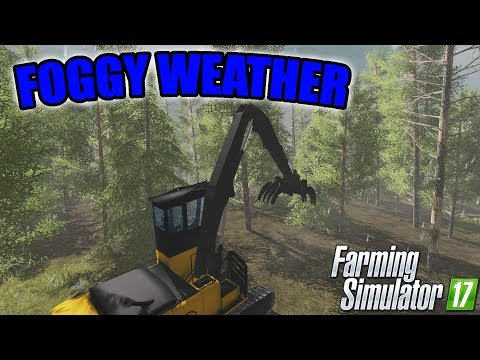 CLEARING OUT THE FOREST - Farming Simulator 17 - Logging Ep.06