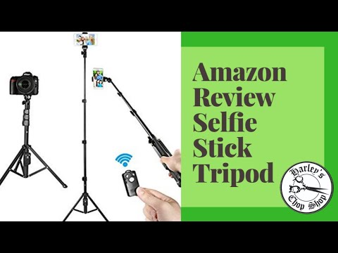 Amazon Review Selfie Stick Tripod with Harley