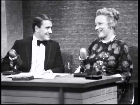Peggy Wood--1966 TV Interview, Sound of Music
