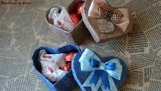 Мастер класс, подарок на 14 февраля, день Святого Валентина своими руками