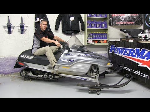 700 Ski Doo mod sled ep #1  Intro to build, PowerModz!