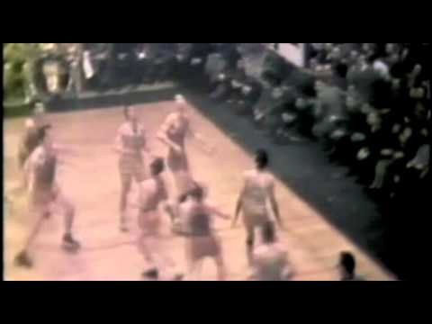 Joe Fulks scores 39(Game 1, 1947 BAA Finals) First Finals in NBA History - YouTube