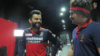 RCB Insider with Mr. Nags: Myntra Ad Shoot with Virat Kohli