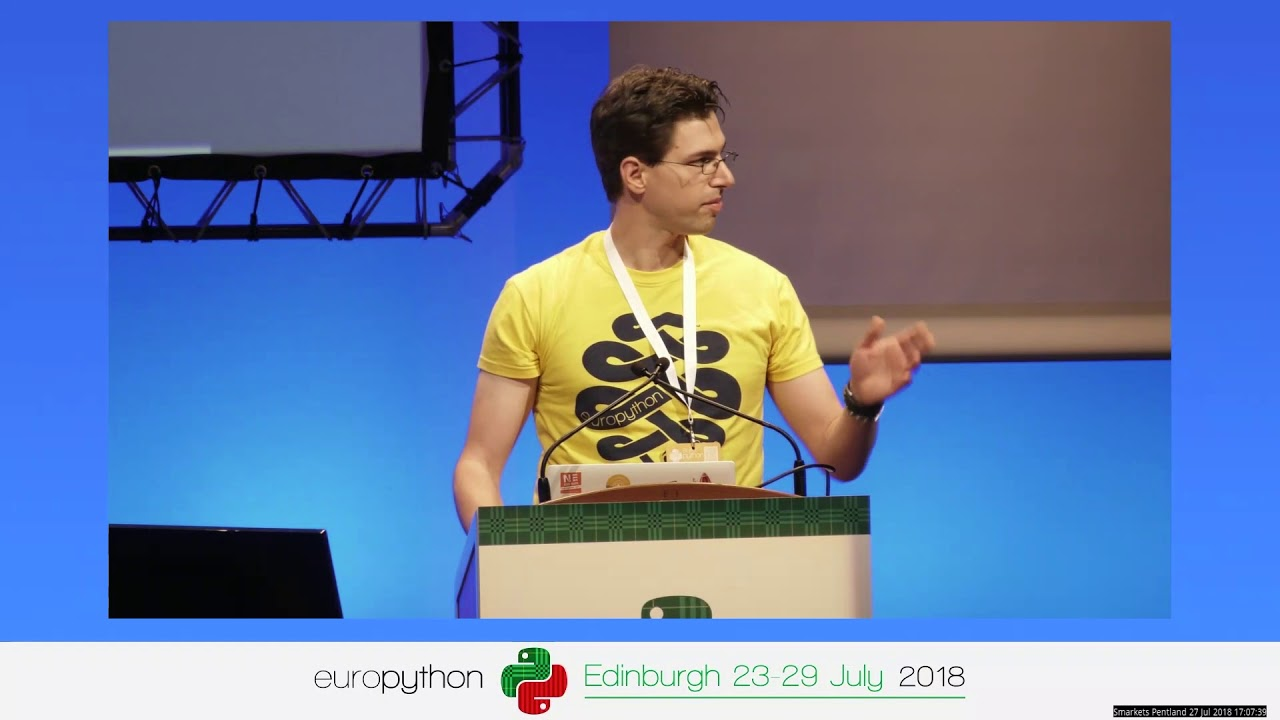Image from EuroPython 2018 - Sprint Orientation