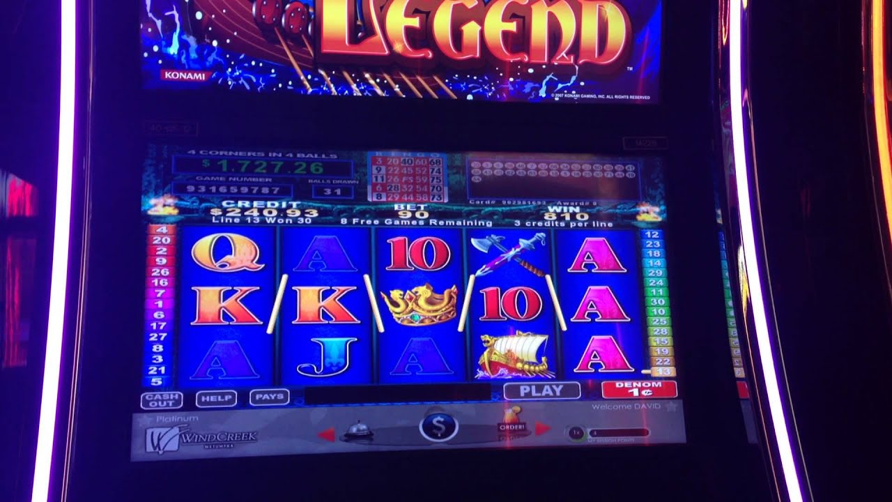 Legend Of Legaia Slot Machine T