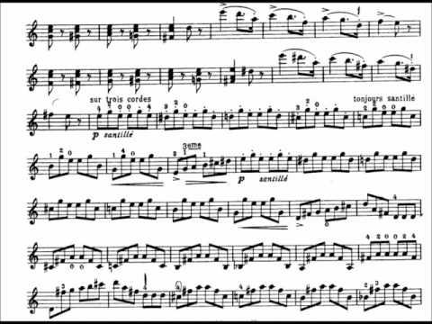 Sarasate - Introduction and Tarantella