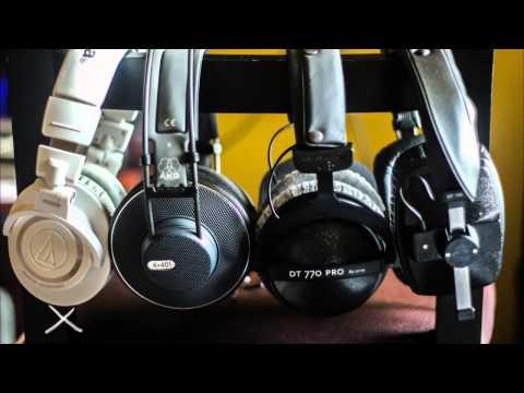 Audio Technica ATH M50 Vs AKG K401 Vs Beyerdynamic DT 770 PRO Vs Beyerdynamic DT 100