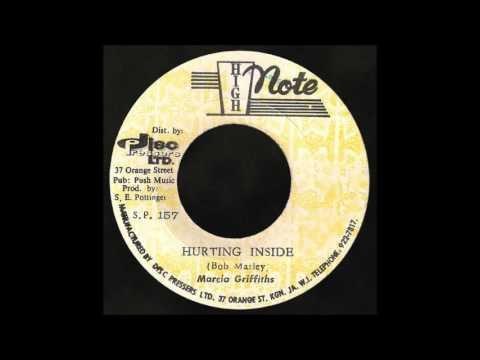 7'' Marcia Griffiths - Hurting Inside (& dub)