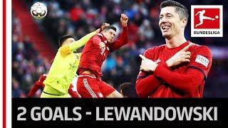 Lewandowski Scores Derby Brace and Reaches New Milestone