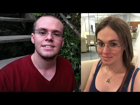 Becoming Catherine - Transgender Timeline (1 Year before and after)