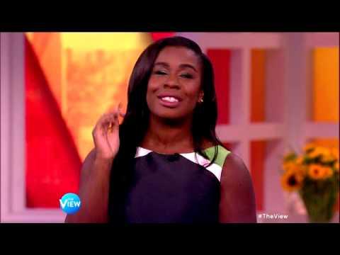 Uzo Aduba Sings Opera on 'The View'