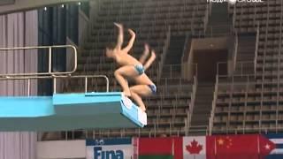 Прыжки в воду. 4-ый этап мировой серии в Москве