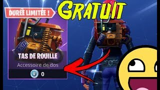 "NEW SAC A FREE DOS ""ROUILLE TAS"" ON FORTNITE BATTLE ROYALE!"
