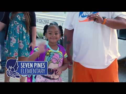First Day:  Seven Pines Elementary School