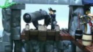 potc megabloks pyrates fort attack stop motion