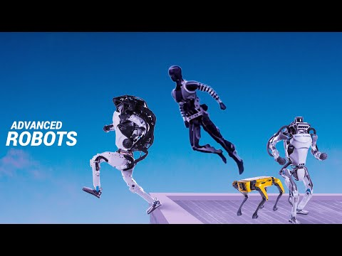 9 Most Advanced AI Robots – Humanoid & Industrial Robots