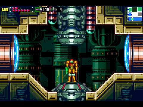Lets Play Metroid Zero Mission 16 Norfair Map Room Youtube
