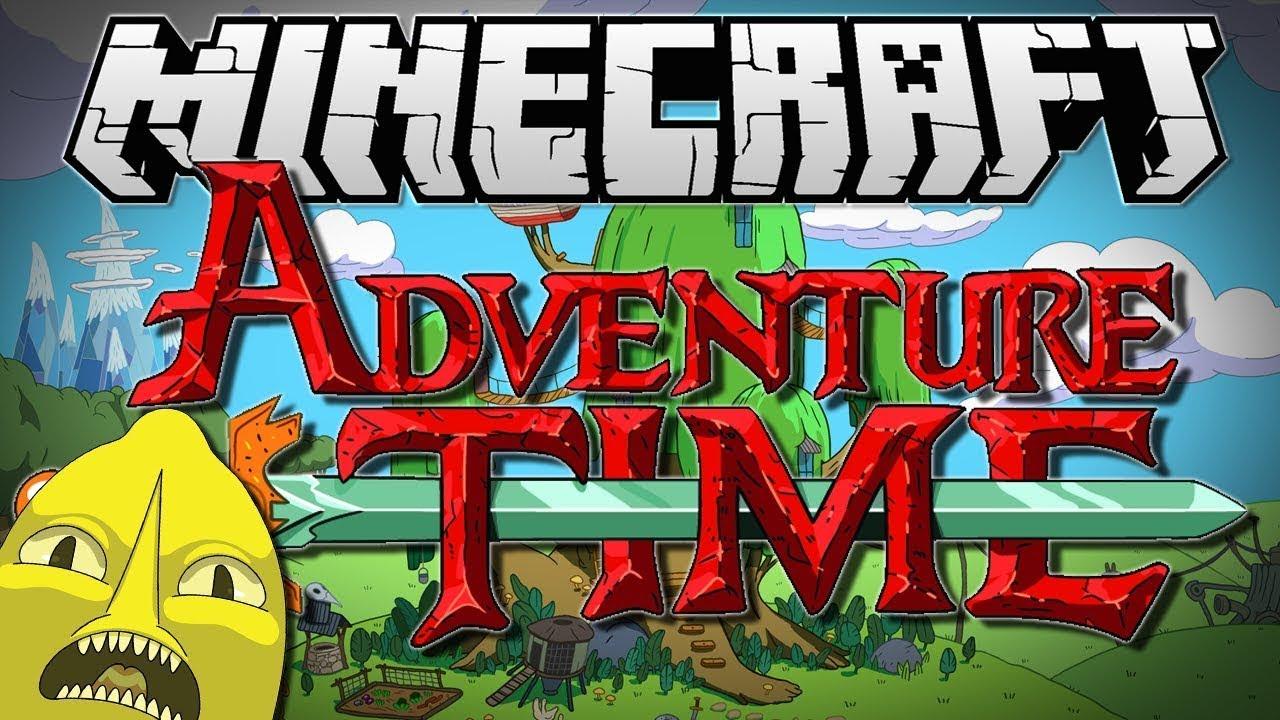 Карта Время Приключений для Майнкрафт (Adventure Time)