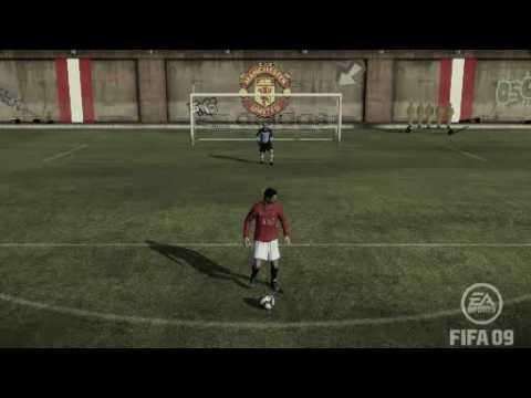 Christiano Ronaldo Bicycle Kick In Fifa 09 Arena