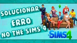 Como Resolver Erro no The Sims 4