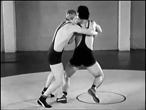 Greek-roman wrestling trows - soviet education movie