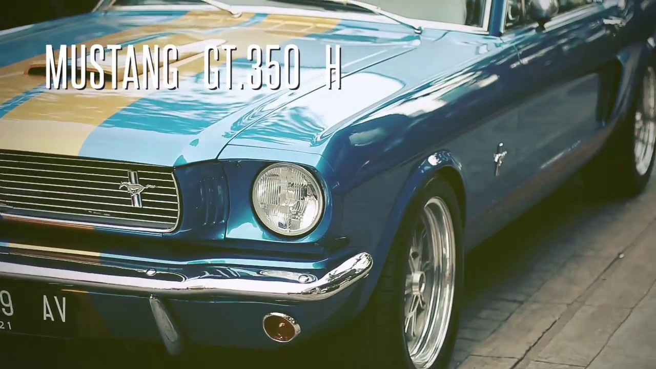 American muscle in indonesia mustang