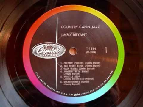 Jimmy Bryant-Speedy West- Country Cabin Jazz-full Lp-best sound