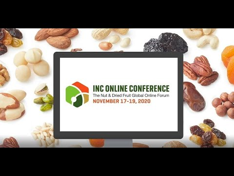 公司在线会议汇集了来自85个国家的螺母和干果行业的1350多名参与者