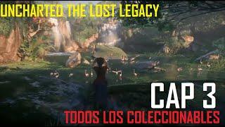 Uncharted: El legado perdido - Capítulo 3: Regreso a casa - Todos los coleccionables