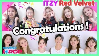 Cover images [Simply K-Pop] ITZY(있지) & Red Velvet(레드벨벳)! K-Pop Stars Celebrate the 20th Anniversary _ Ep.375