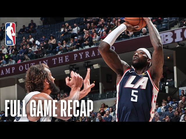 CLIPPERS vs GRIZZLIES   Montrezl Harrell Drops 30 (11-14 FG) For LAC   February 22, 2019