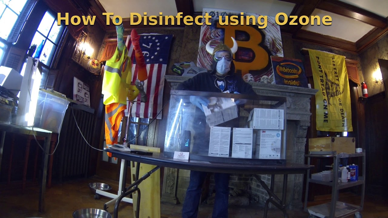 Use an Ozone Generator to Kill the Covid-19 Coronavirus