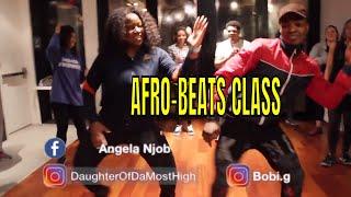 Amanda Malela Hosanna Afrobeats  Dance Class| Social Club Misfits Tuyo