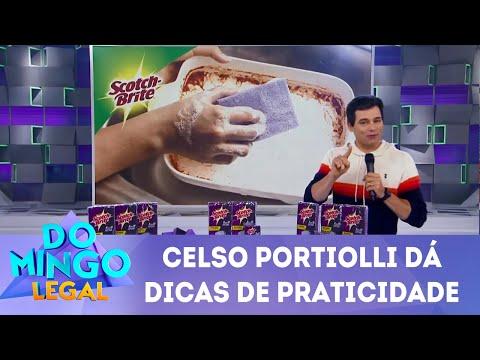 Celso dá dica de praticidade | Domingo Legal (10/06/18)