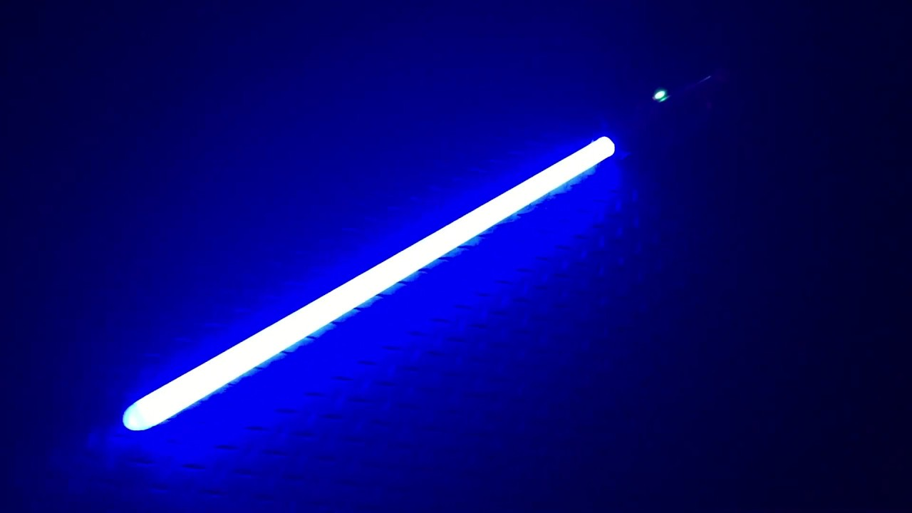 how to make a lightsaber blade
