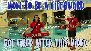 A day in the life of a LIFEGUARD! Come to work with me