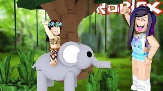 The JUNGLE GIRL and the CITY GIRL-(HISTORINHA) Roblox-Adopt Me