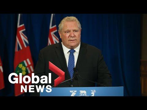Coronavirus outbreak: Ontario premier says he'll unveil plan for random testing next week | FULL