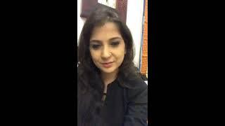 Smt. Kaushiki Chakrbarty Facebook Live