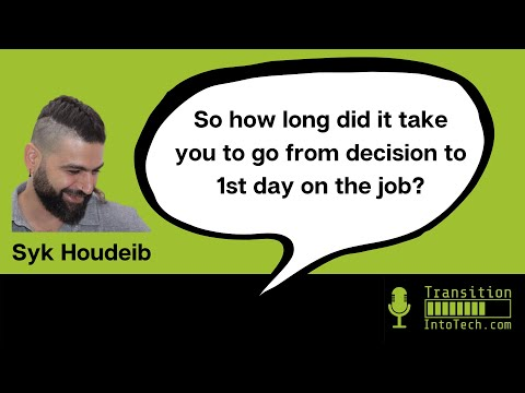 Syk Houdeib: 'Front-end developer... I still have to pinch myself!' 7