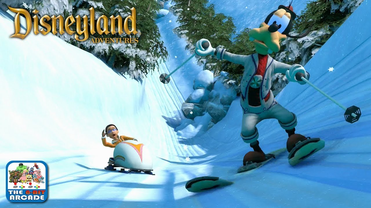 Disneyland Adventures Hitting The Matterhorn With Goofy Xbox One Gameplay Youtube