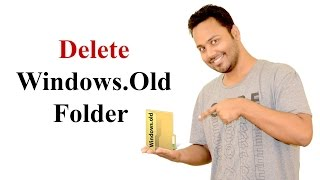 How To Delete Windows.Old Folder And Files (Windows 10)  Hindi / Urdu [Billi4You]