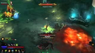 Diablo 3: Reaper of Souls Gameplay Footage (VI) On PS4