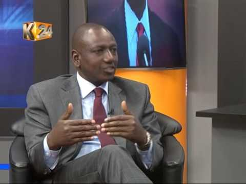 K24 EXCLUSIVE: Deputy President William Ruto LIVE on K24Tv