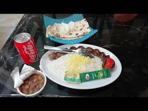 PERSIAN FOOD IN PERSIAN VOICE OVER - IRANI FOOD ISFAHAN