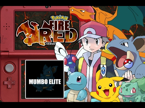 POKEMON FIRE RED LIVE!!! [Beating the Game In One Stream]