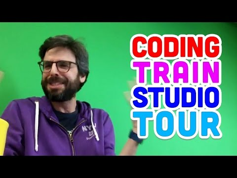 Coding Train Studio Tour!