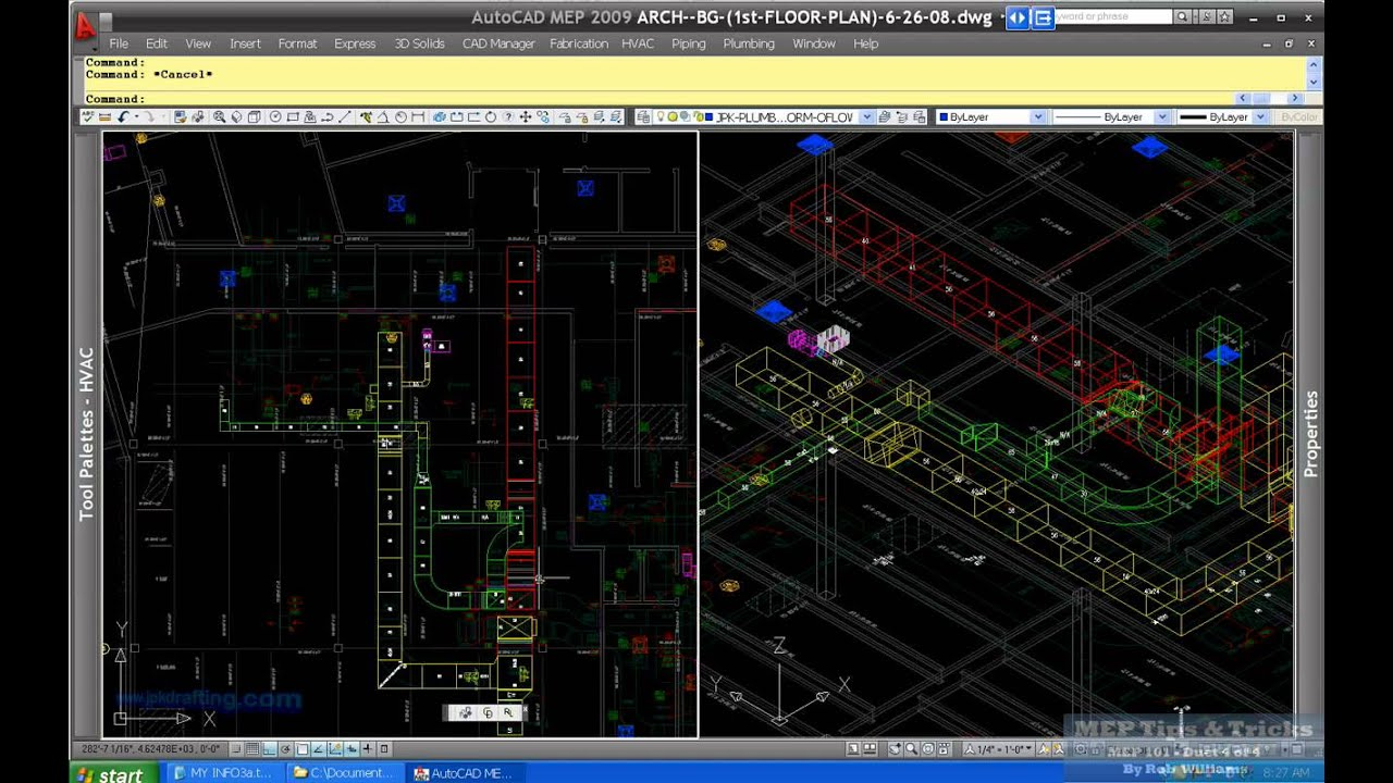 Hvac Drawing Autocad Mep 2008 | Wiring Diagram