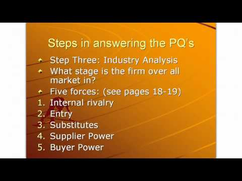 Business Strategy Chapter One Kellogg