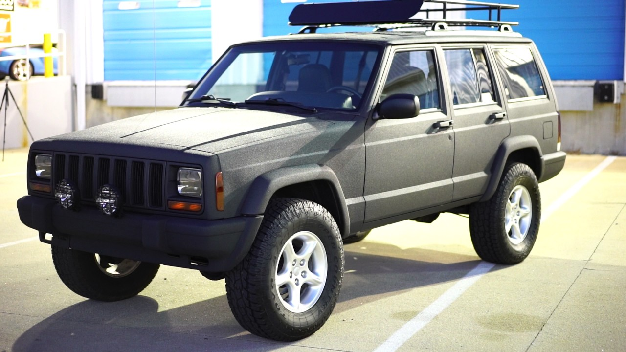 Cherokee Xj For Sale >> Davis AutoSports FULL KEVLAR CHEROKEE SPORT XJ FOR SALE - YouTube